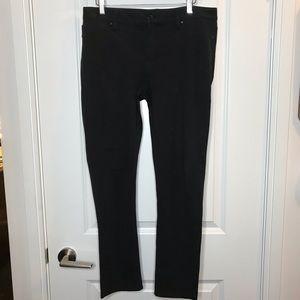 Black Calvin Klein Jeans Size 8 Pants